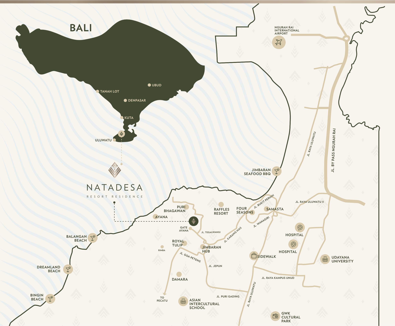 Nata Desa Location